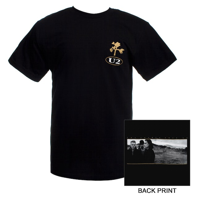 U2com The Joshua Tree Logo T-Shirt (2)