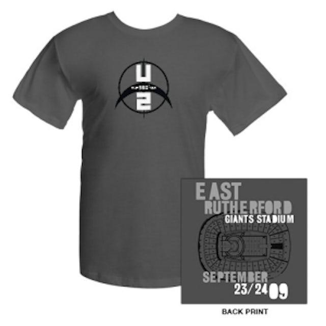 U2 Giants Stadium East Rutherford T-Shirt