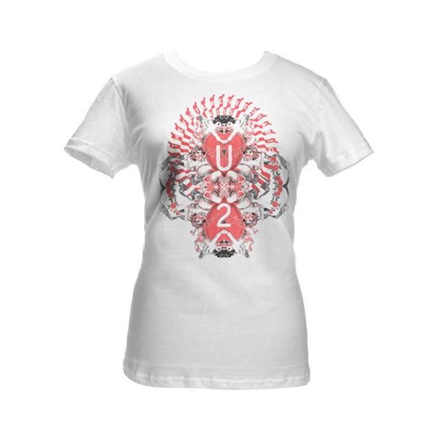 U2 Big Kiss Babydoll Shirt