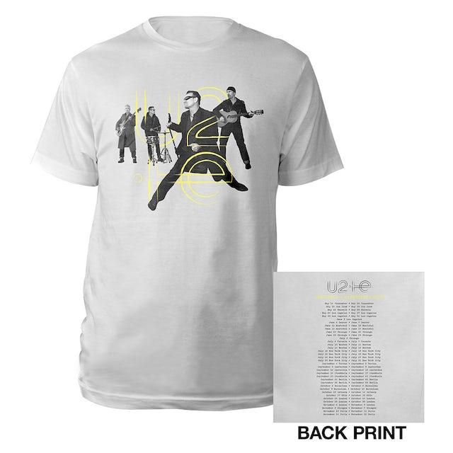 U2 Innocence + Experience Tour Live Photo T-Shirt