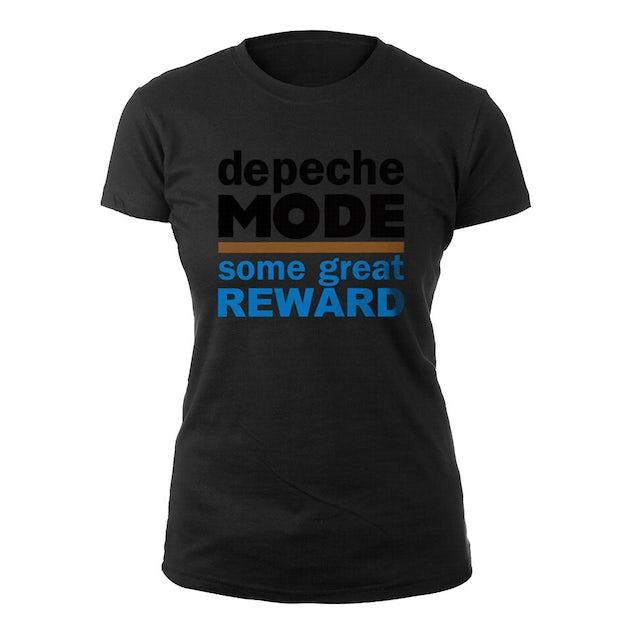 Depeche Mode Some Great Reward Black Babydoll