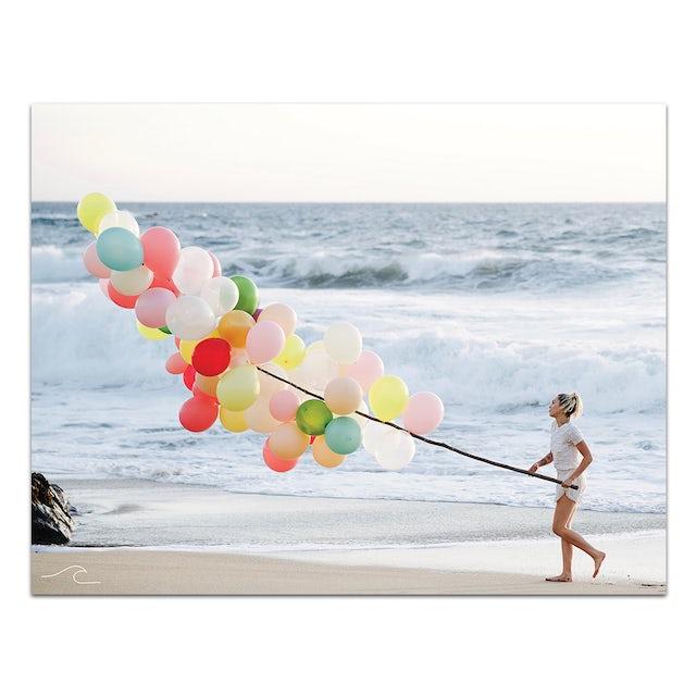 Miley Cyrus Limited Edition Malibu Balloons Poster