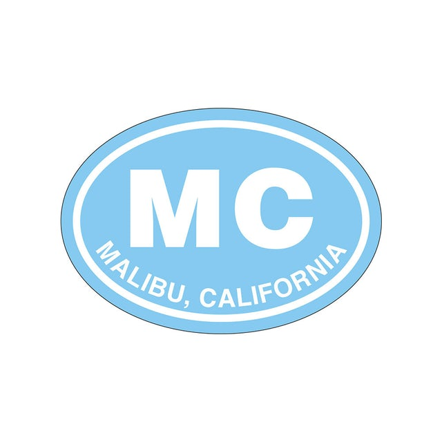 Miley Cyrus Malibu Sticker