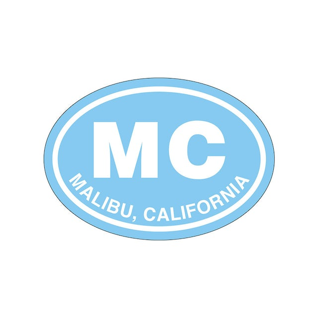 Miley Cyrus Malibu Sticker