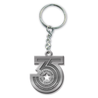 Pat Benatar 35th Anniverary Tour Keychain