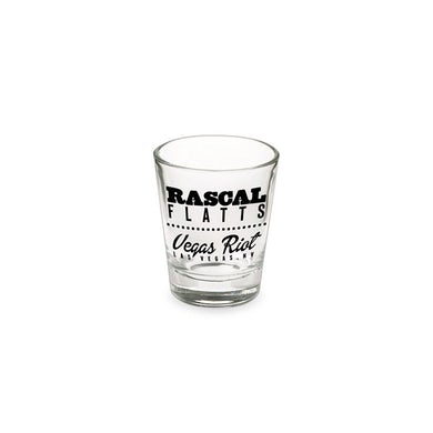 Rascal Flatts Vegas Shot Glass