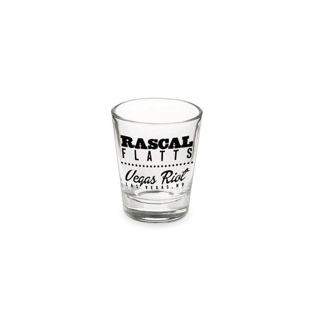 Rascal Flatts Vegas Shot Glass