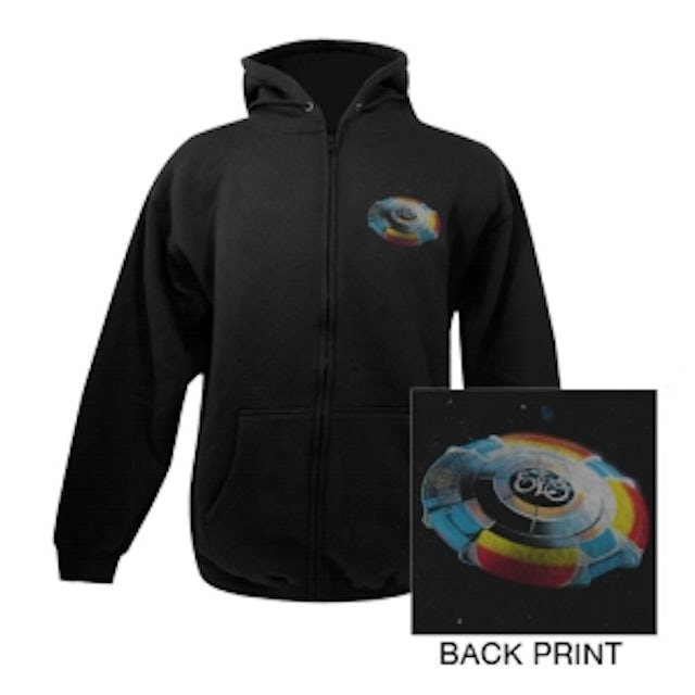 ELO (Electric Light Orchestra) Spaceship Hoodie