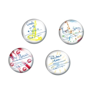 Bernie Taupin Song Titles Button Pack