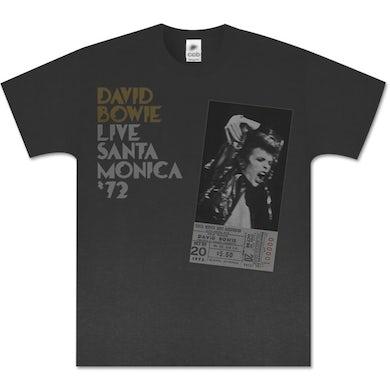 David Bowie Live In Santa Monica '72 T-Shirt