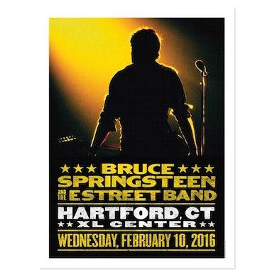 Bruce Springsteen The River Hartford Event Poster