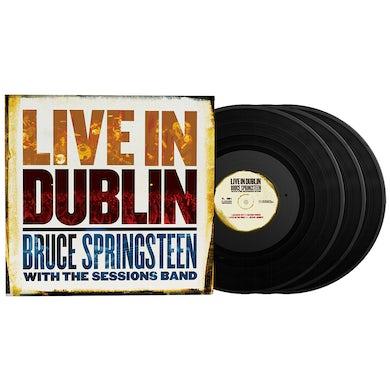 Bruce Springsteen Live in Dublin 3LP (Vinyl)