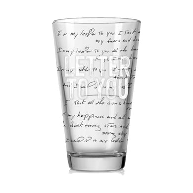 Bruce Springsteen Letter To You Printed Pint Glass