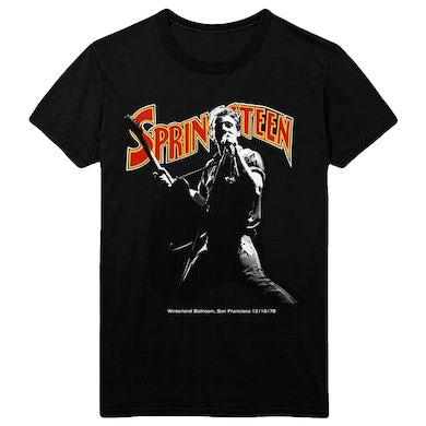Bruce Springsteen Throwback Winterland Tee