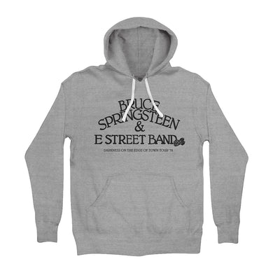 Bruce Springsteen E Street Band Gray Hoodie