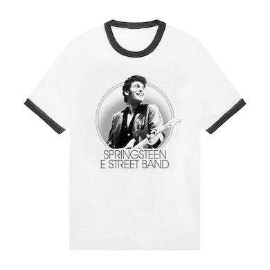 Bruce Springsteen Retro Ringer No Nukes Tee