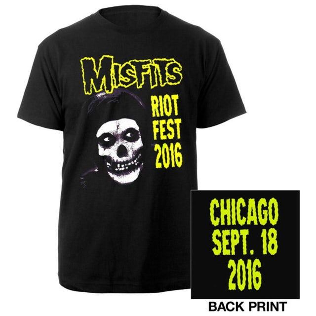 The Misfits Riotfest 2016 Tee