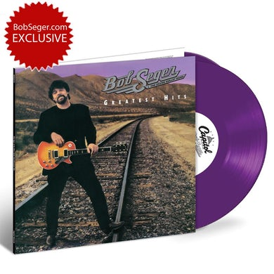 Bob Seger Greatest Hits Purple 2 LP Vinyl 150 gram