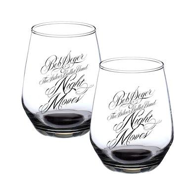 Bob Seger Night Moves Wine Glass Set