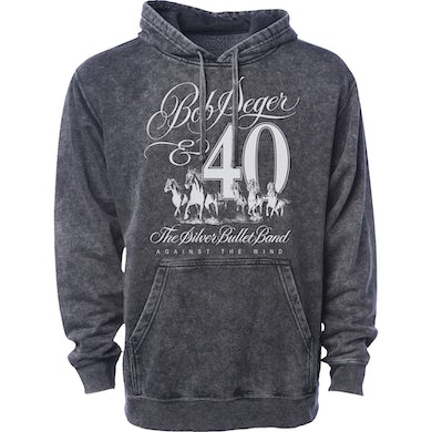 Bob Seger Against The Wind 40th Anniversary Pullover Hoodie