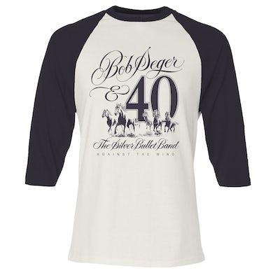 Bob Seger Against The Wind 40th Anniversary Raglan Shirt