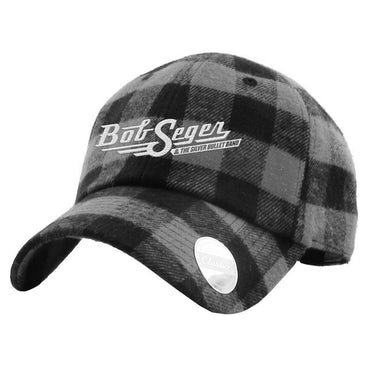 Bob Seger Classic Logo Plaid Hat