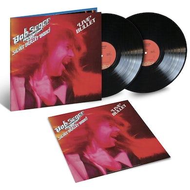 """Bob Seger 'Live' Bullet 45th Anniversary Black Double Vinyl 150 gram & 11"""" Litho"""