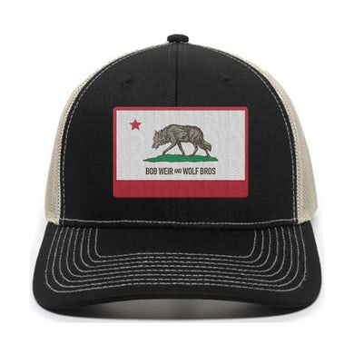 Bob Weir Wolf Flag Trucker Hat
