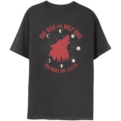 Bob Weir and Wolf Bros NYE Event Broadcast Tee
