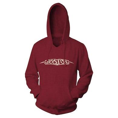 Boston Vintage Logo Hooded Sweatshirt