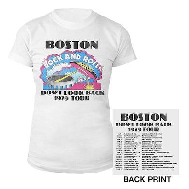 Boston Don't Look Back Vintage Tour Women's T-Shirt