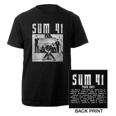 Sum 41   Black and White Photo Tee