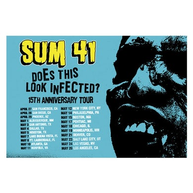 Sum 41   Does this Look Infected? 15th Anniversary Poster