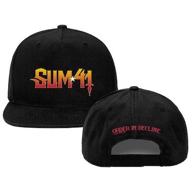 Sum 41   Order In Decline Hat