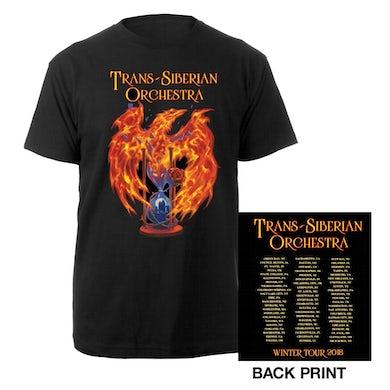 Trans-Siberian Orchestra Phoenix 2018 Itin Tee