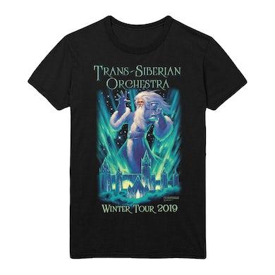 Trans-Siberian Orchestra TSO Wizard Emerald City Tour Tee