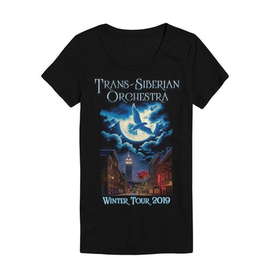 Trans-Siberian Orchestra TSO Moonflight Ladies Tour Tee