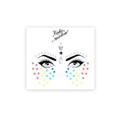 Ke$ha Rainbow Face Jewels