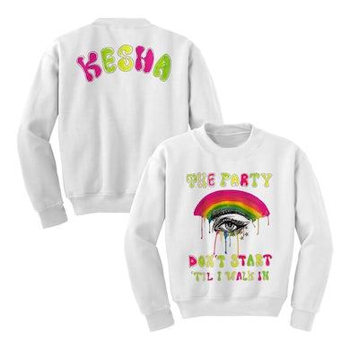 Ke$ha Party Don't Start Crewneck Sweatshirt