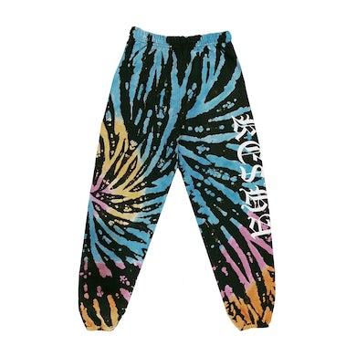 KE$HA Logo Tie Dye Joggers