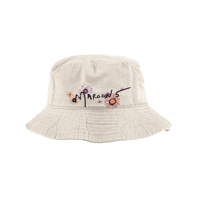 Maroon 5 M5 Embroidered Bucket Hat