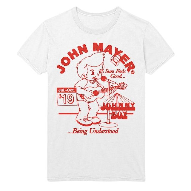 "John Mayer ""Johnny Boy"" 2019 Tour Tee"