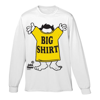 John Mayer I Got A Big Shirt Long Sleeve Tee - White