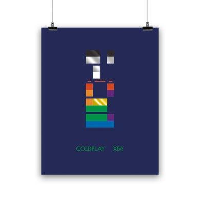 Coldplay X&Y - LITHOGRAPH