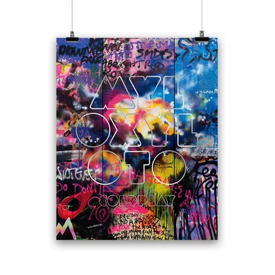 Coldplay MYLO XYLOTO - LITHOGRAPH