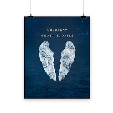 Coldplay GHOST STORIES - LITHOGRAPH