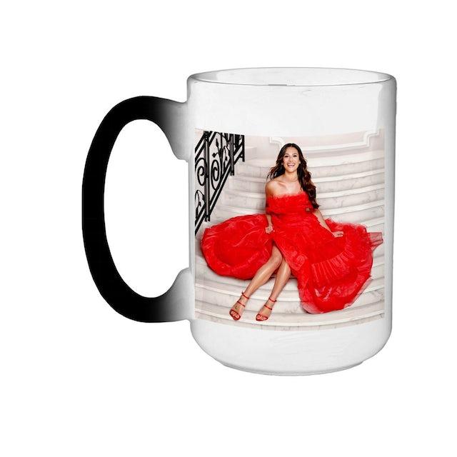 Lea Michele Christmas In The City Heat Reveal Coffee Mug