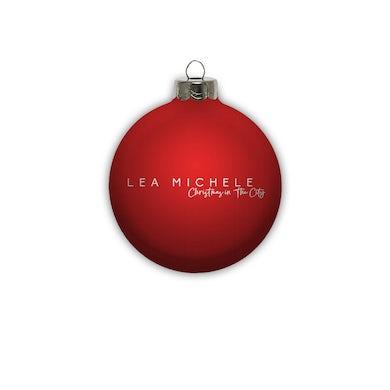 Lea Michele Christmas In The City Ornament