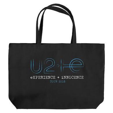 U2 eXPERIENCE + iNNOCENCE Tour Black Tote Bag