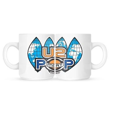U2 PopMart White Mug
